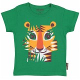 Coq en Pate Organic Cotton T-Shirt - Tiger Size 2
