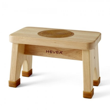 Hevea Natural Rubberwood Stool