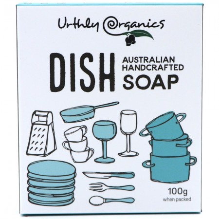 Urthly Organics Soap Bar - Dish Soap