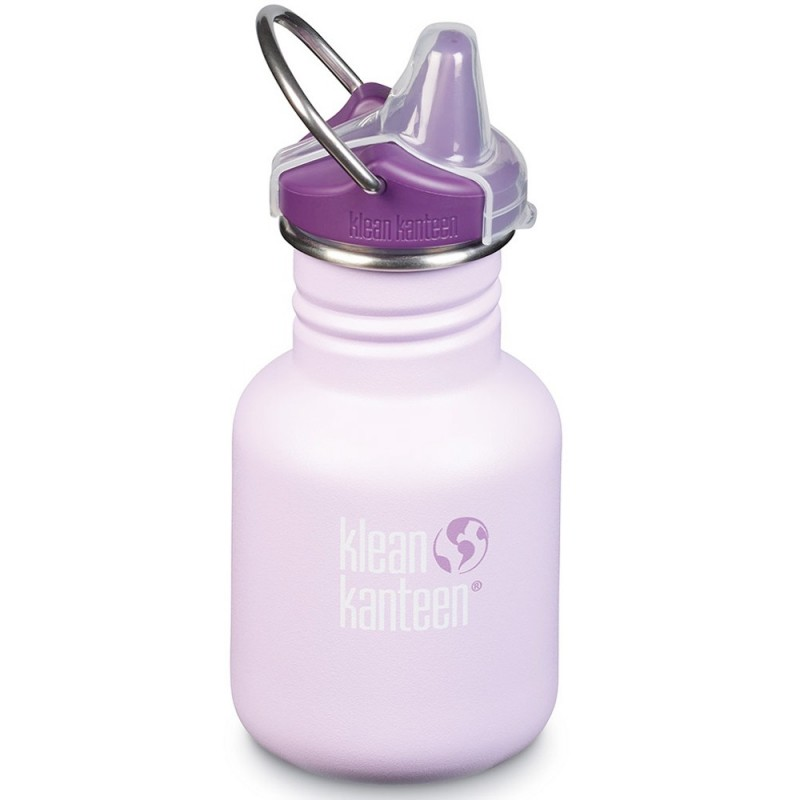 Klean Kanteen Stainless Steel Water Bottle Sippy Cap 12oz 355ml - Sugarplum Fairy (Klean Coat)