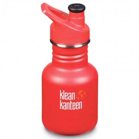 Klean Kanteen Stainless Steel Water Bottle Classic 12oz 355ml - Ladder Truck (Klean Coat)