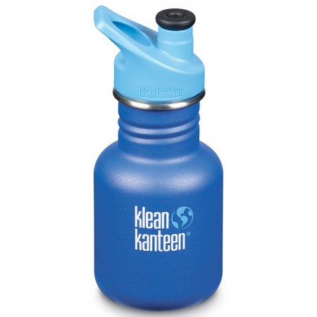 Klean Kanteen Stainless Steel Water Bottle Classic 12oz 355ml - Surf's Up (Klean Coat)