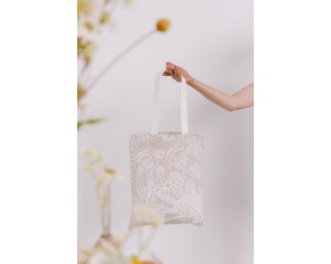 Farn Tote Bag Neutral Flora