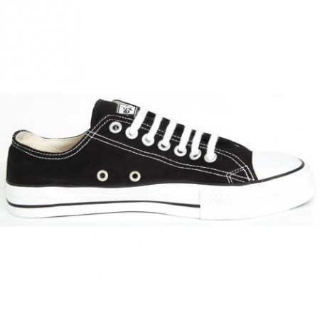Etiko Sneakers Lowcut Black & White