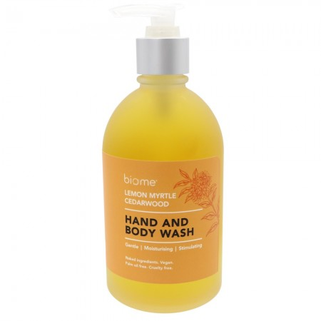 Biome Hand & Body Wash 250ml - Lemon Myrtle & Cedarwood