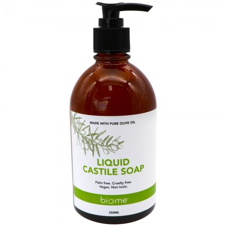 Biome Unscented Liquid Castile Soap 250ml