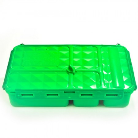 Go Green Original 5 Compartment Lunch Box - Green