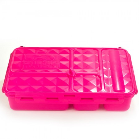 Go Green Original 5 Compartment Lunch Box - Pink