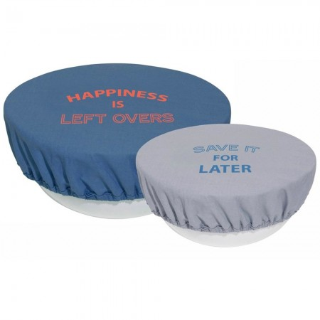 Reusable Bowl Covers Set of 2 - Blues