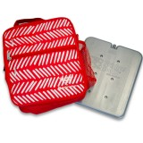 Fridge to Go Insulated Lunch Box Medium - Herringbone