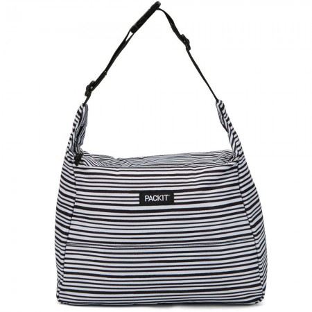 Packit Freezable Hobo Lunch Bag - Wobbly Stripe