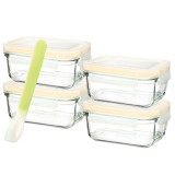Glasslock 5 Piece Baby Set Rectangle 150ml