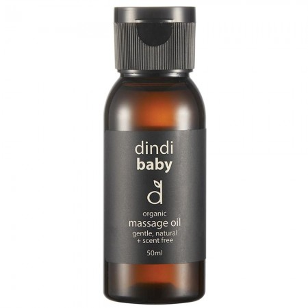 Dindi Naturals Organic Baby Massage Oil 50ml
