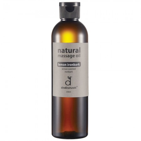Dindi Naturals Massage Oil 250ml - Lemon Ironbark