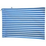 4MyEarth Reusable Cloth Bread Bag - Denim Stripe