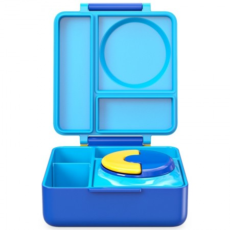 OmieBox Hot & Cold Bento Lunch Box - Blue Sky