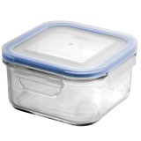 Glasslock Blue Seal Container - Square 480ml