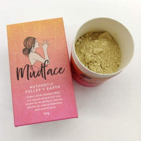 Mudface - Fuller's Earth Clay Mask Powder