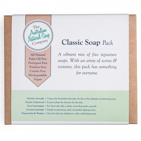 Australian Natural Soap Company Gift Pack - Classic Soaps