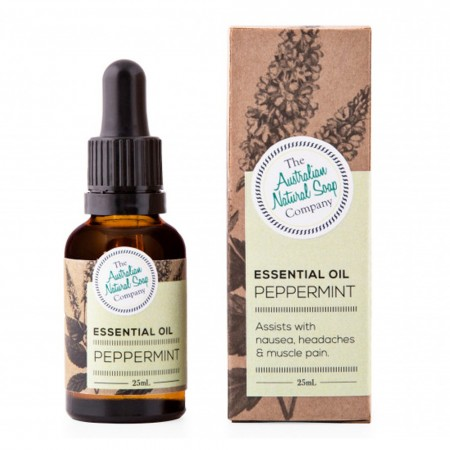 Australian Natural Soap Company Essential Oil - Peppermint