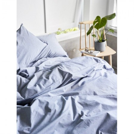 Percale Cotton Sheet Set - Harbour