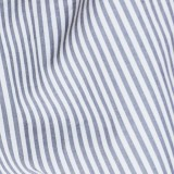 Sheets On The Line Organic Percale Cotton Sheet Set - Fog Stripe