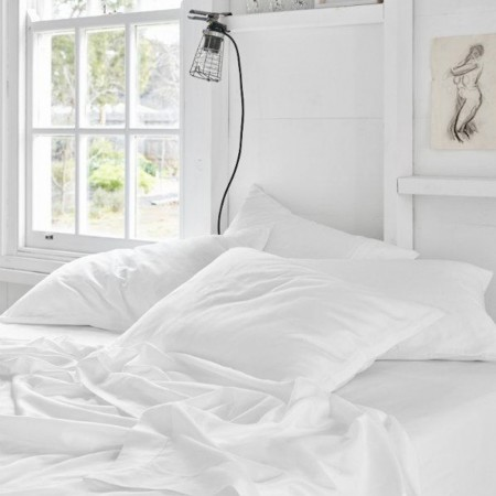 Sheets On The Line Every Night Organics Sheet Set - Cloud