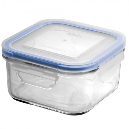Glasslock Blue Seal Container - Square 850ml