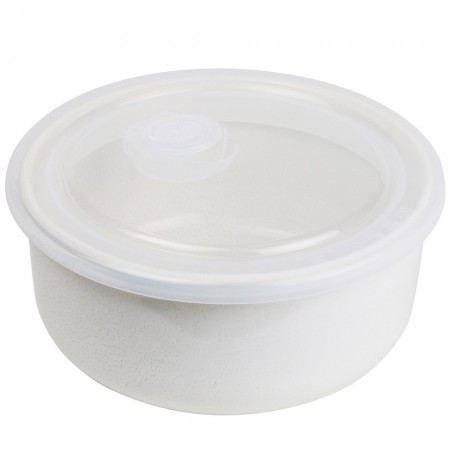 Robert Gordon Feast Ceramic Travel Container - Round Cream