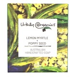 Urthly Organics Soap Bar - Lemon Myrtle & Poppy Seed