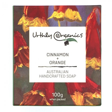 Urthly Organics Soap Bar - Cinnamon & Orange