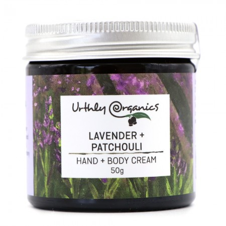 Urthly Organics Hand & Body Cream - Lavender & Patchouli