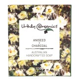 Urthly Organics Soap Bar - Aniseed + Lavender with Charcoal