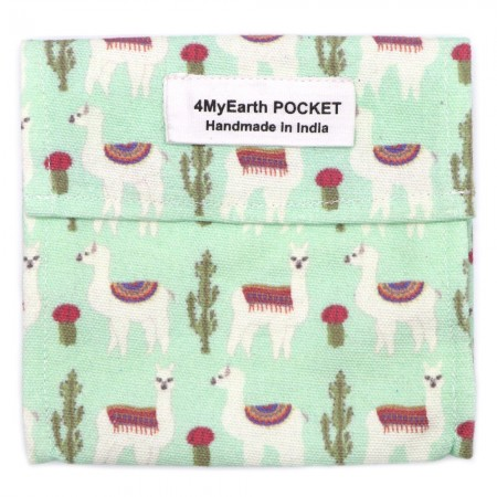 4MyEarth Snack Pocket (Single) - Llama