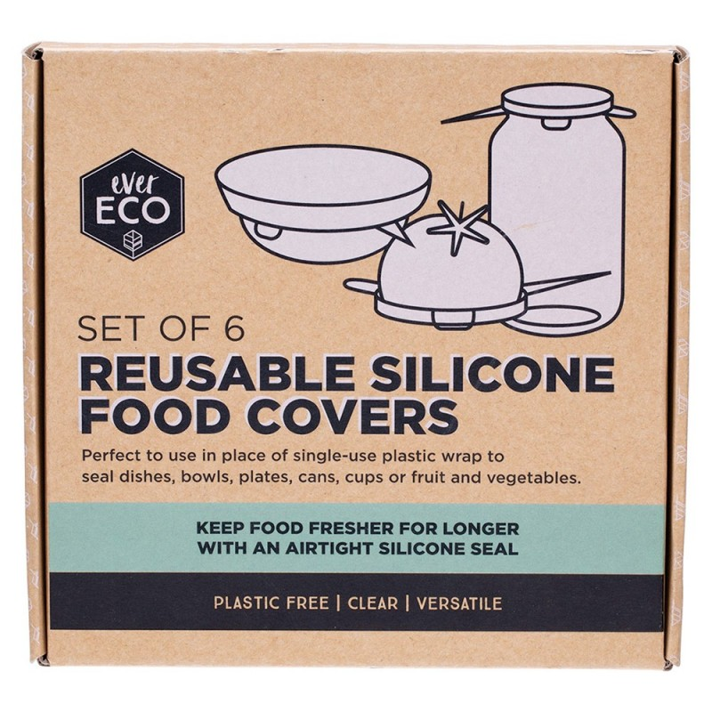 EVER ECO Reusable Silicone Food Covers