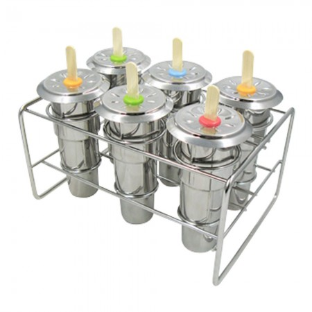 Stainless steel popsicle ice block maker by Onyx - original