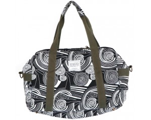 Beekeeper Parade Weekender Masterpiece Large Monochrome Swirls