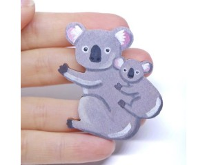 Pixie Nut and Co Koala Brooch