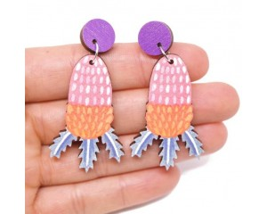 Pixie Nut and Co Banksia Earrings