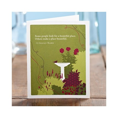 Appreciation Greeting Card - Some People Look For...