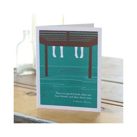 PG greeting cards - there are good friends...