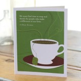 Appreciation Greeting Card - We Must Find Time To Stop...