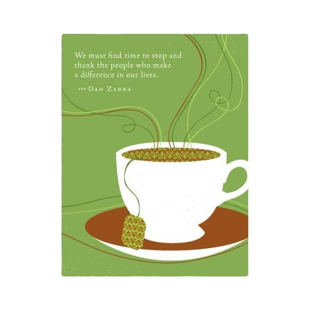 PG greeting cards - we must find the time to stop...