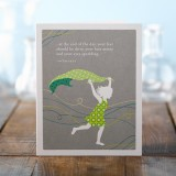 Birthday Greeting Card - At The End Of The Day...