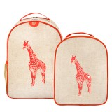 SoYoung toddler backpack lunch set - orange giraffe