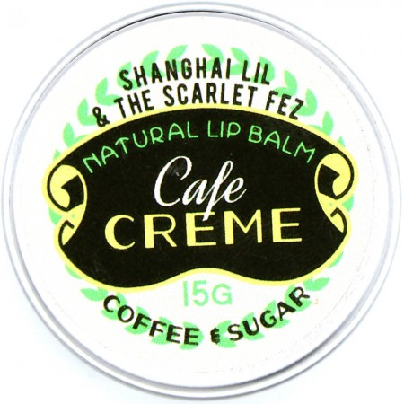 Shanghai Lil & The Scarlet Fez Lip Balm Cafe Creme