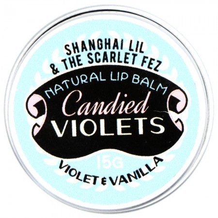 Shanghai Lil & The Scarlet Fez Lip Balm Candied Violets
