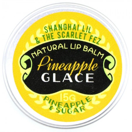 Shanghai Lil & The Scarlet Fez Lip Balm Pineapple Glace