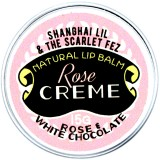 Shanghai Lil & The Scarlet Fez Lip Balm Rose Creme