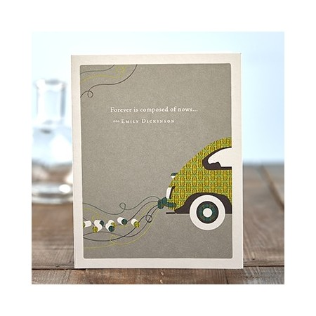 Wedding Greeting Card - Forever Is Composed...